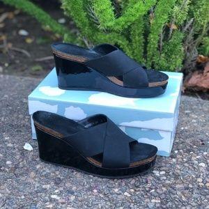 Donald J Pliner Bonbon Platform Wedge Sandal